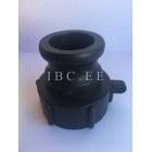 2'' camlock adapter x 2'' S60X6 female buttres