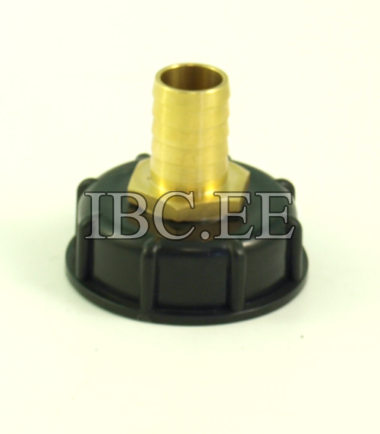 Adapter to a container with internal thread for S60X6 Garden Hose 25 mm