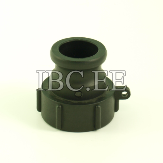 """1½"""" Camlock adapter x S60X6 female buttres PP"""