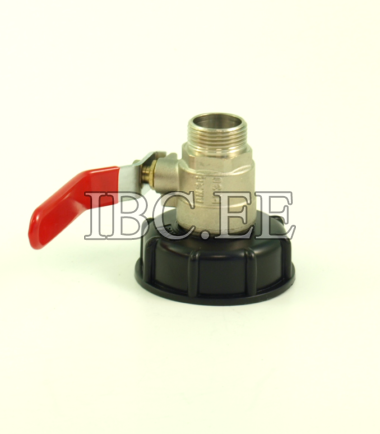 Adapter S60X6 female and 1 inch valve MM NPT / BSP thread