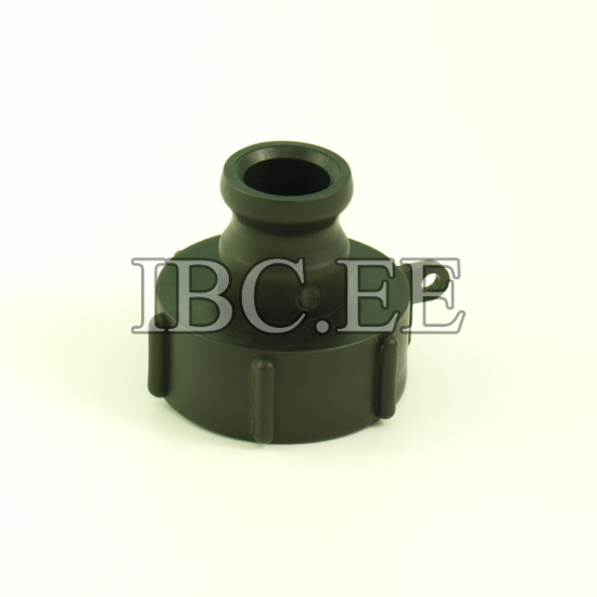 """1"""" Camlock adapter x S60X6 female buttress PP"""