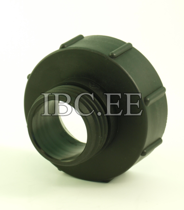 """Adapter 3"""" DN100 (110mm) Coarse Thread to 2"""" DN50"""