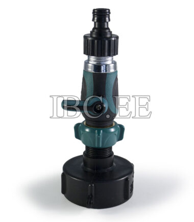 IBC connector S60X6 1 Way Tap Connectors 3/4'' Pipe Tap for Garden Irrigation System plastik
